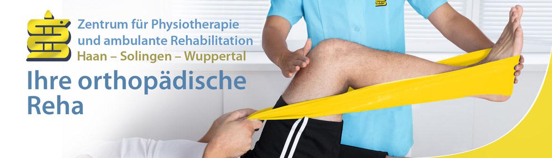 Headerbild: Ihre orthopädische Reha